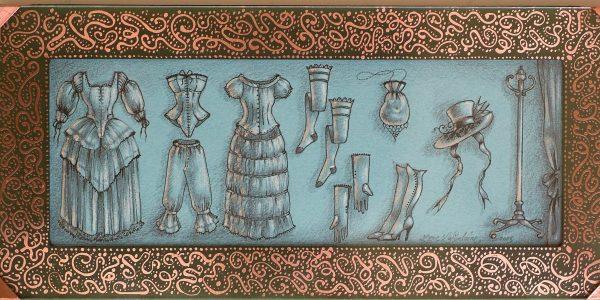 Crinoline, corset et autres coquetteries – 2005