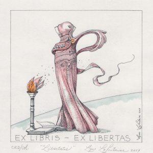 « Libertatis » Ex Libris – Ex Libertas -2017