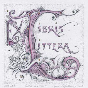 « Littera no 1 » Ex Libris – Ex Littera – 2018