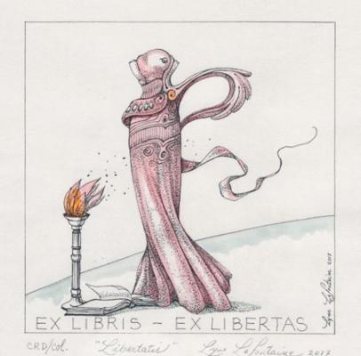 """Libertatis"" Ex Libris – Ex Libertas – 2017"