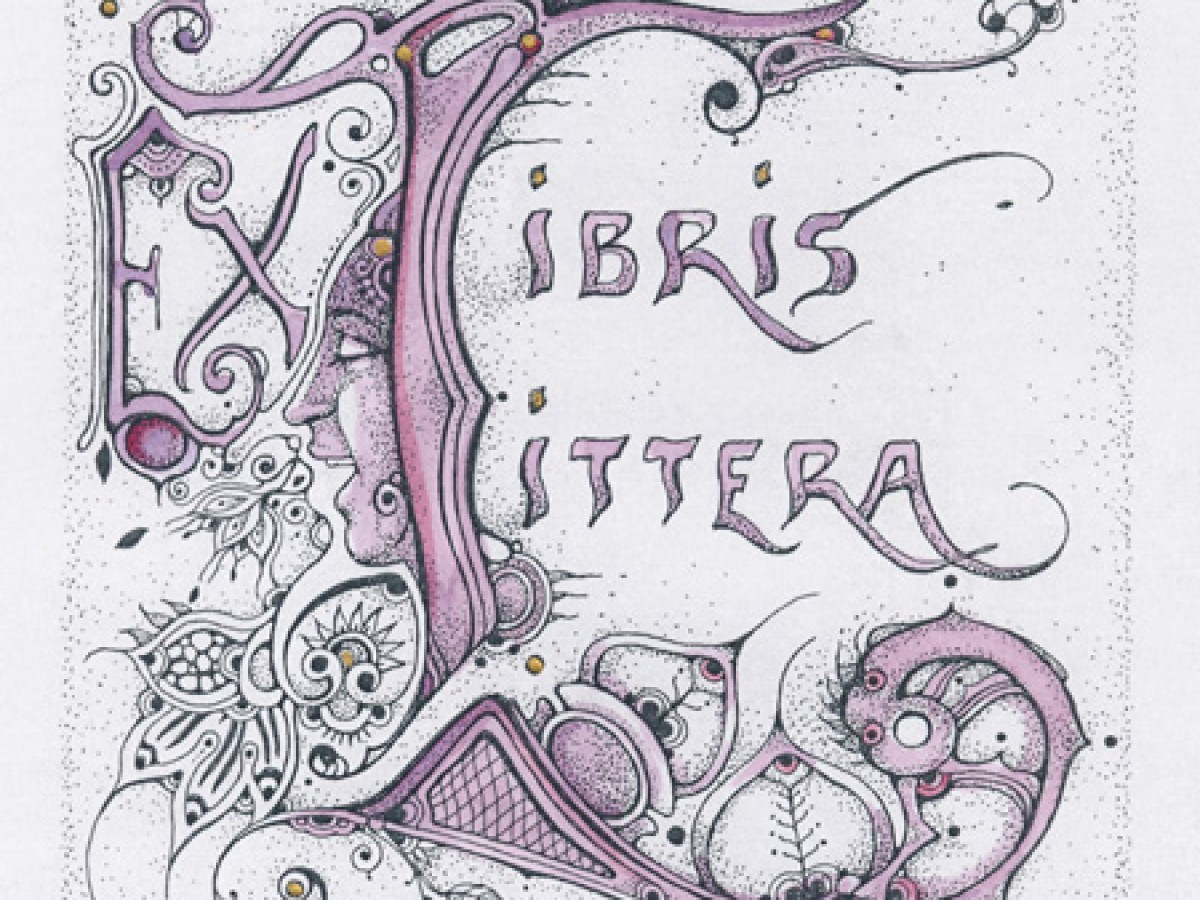 """Littera no 1"" Ex Libris – Ex Littera – 2018"
