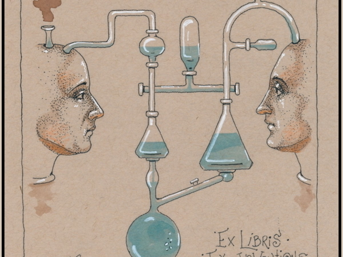 """Découvrir"" Ex Libris – Ex Inventions -2020"